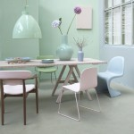 Inspiration dining room pastel, Carrouselles
